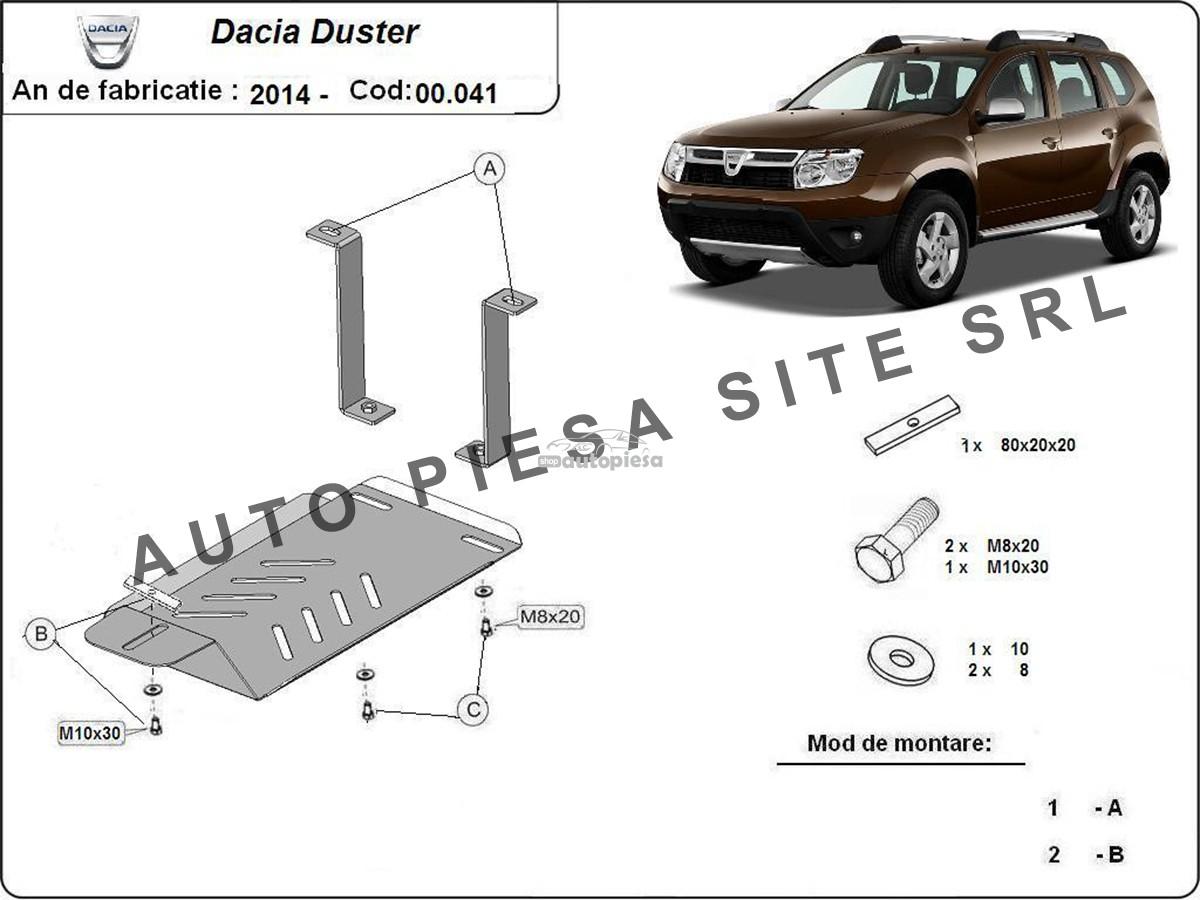 Scut metalic diferential Dacia Duster 4X4 fabricata incepand cu 2014 00041-UJ-Dacia-Duster.jpg