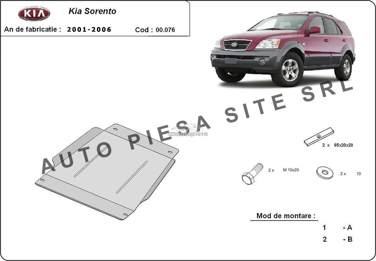 Scut metalic cutie viteze Kia Sorento fabricata incepand cu 2001 - 2006