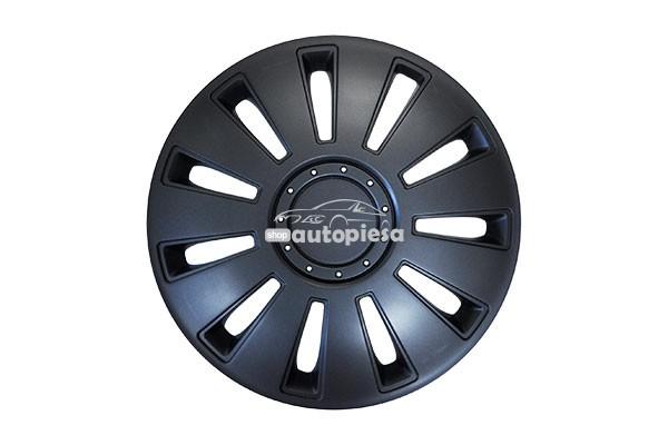 Set 4 capace roti model SILVERSTONE BLACK 14 inch MEGA DRIVE