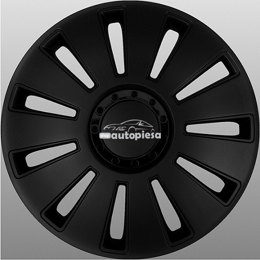 Set 4 capace roti model SILVERSTONE BLACK 15 inch MEGA DRIVE