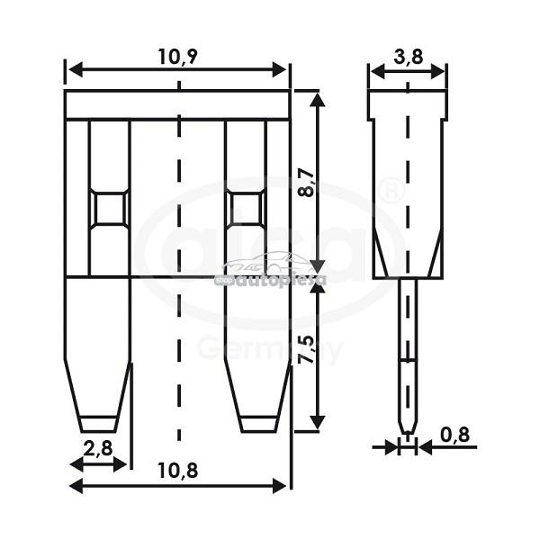 Set 5 sigurante fuzibile mini 7.5A ALCA 08317_2704137.jpg