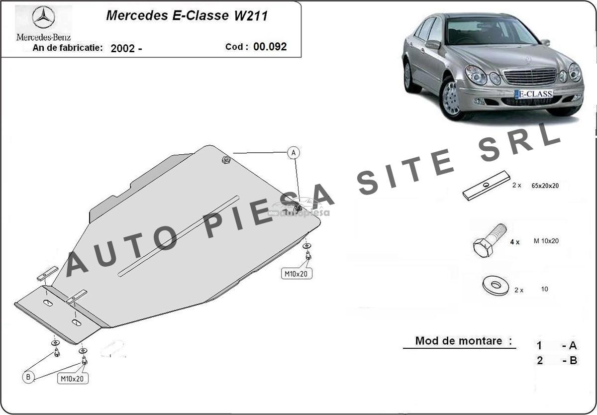 Scut metalic cutie viteze automata Mercedes E-Class W211 fabricat incepand cu 2002