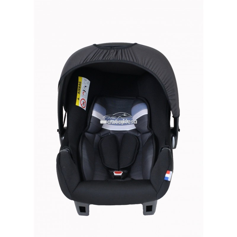 Scaun auto pentru copii grupa 0+ (0-1 an / 0-13 kg) negru Beone First Horizon NANIA