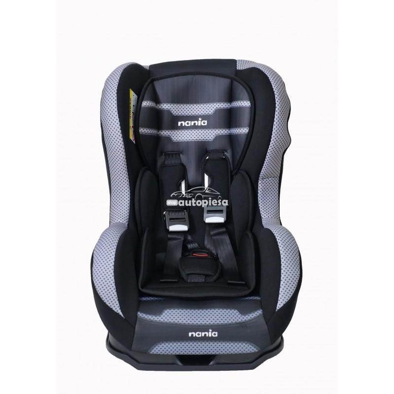 Scaun auto pentru copii grupa 0-1 (0-4 ani / 0-18 kg) negru Cosmo Plus Boomer NANIA