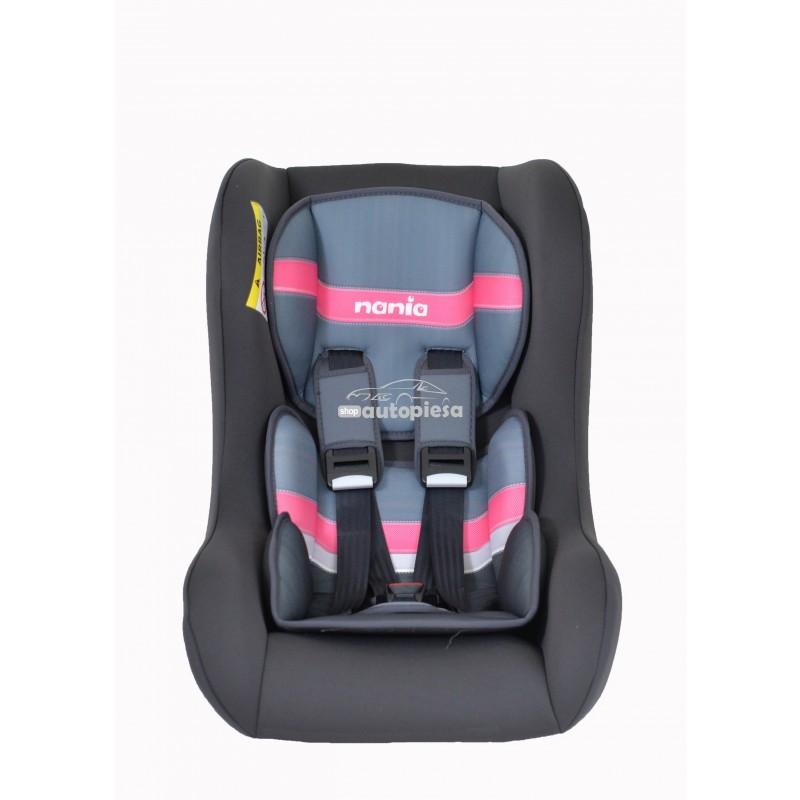 Scaun auto pentru copii grupa 0-1-2 (0-8 ani / 0-25 kg) roz Trio First Graphic NANIA