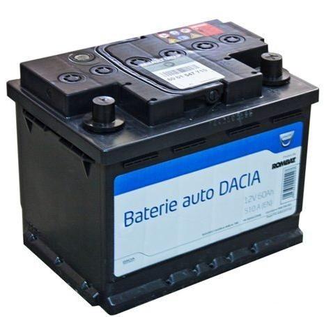 Acumulator baterie auto originala Dacia OE 60 Ah 510A