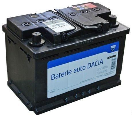 Acumulator baterie auto originala Dacia OE 70 Ah 720A