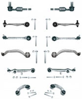 Kit brate suspensie / directie Audi A8 (03.1994 - 12.2002) - 12 piese QWP