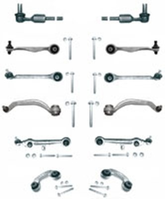 Kit brate suspensie / directie VW Passat 3B2, 3B5 (08.1996 - 12.2001) - 12 piese QWP