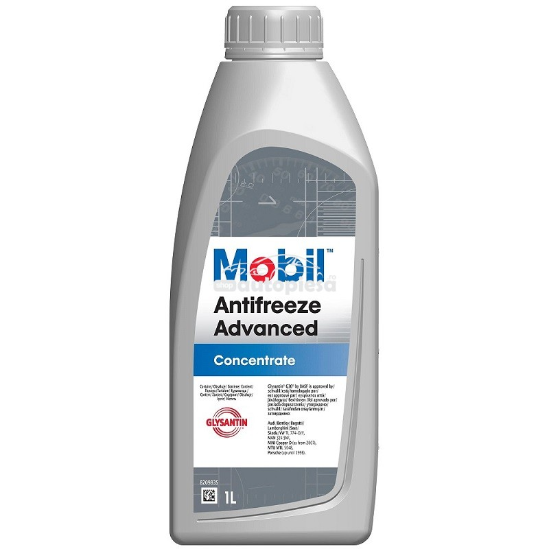 Antigel concentrat MOBIL Antifreeze Advanced G12 / G12+ Rosu / Roz 1 L