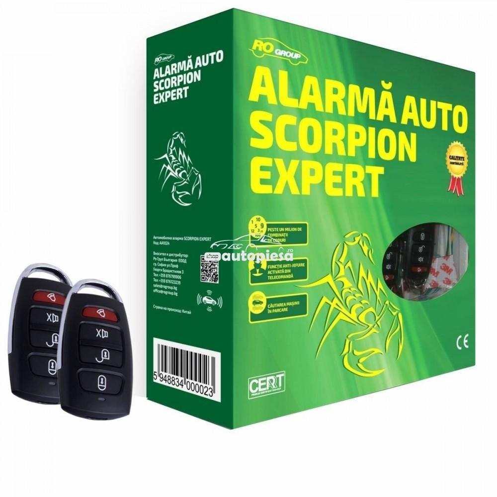 Alarma auto Scorpion AA1024 RO Group