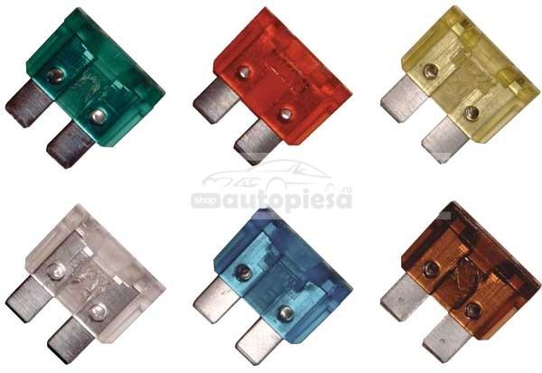Set 6 sigurante fuzibile standard 7.5A - 30A CARPRISS