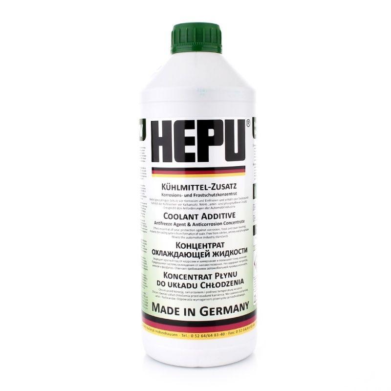 Antigel concentrat HEPU Tip D Verde 1.5 L