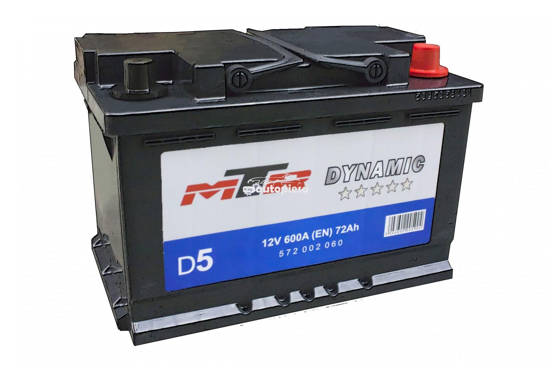 Acumulator baterie auto MTR Dynamic L3 72 Ah 600A