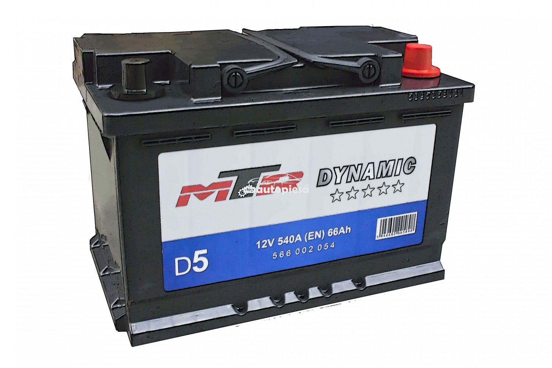 Acumulator baterie auto MTR Dynamic L3 66 Ah 540A