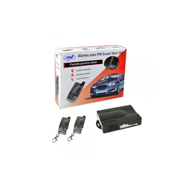 Alarma auto cu 2 telecomenzi si inchidere centralizata PNI