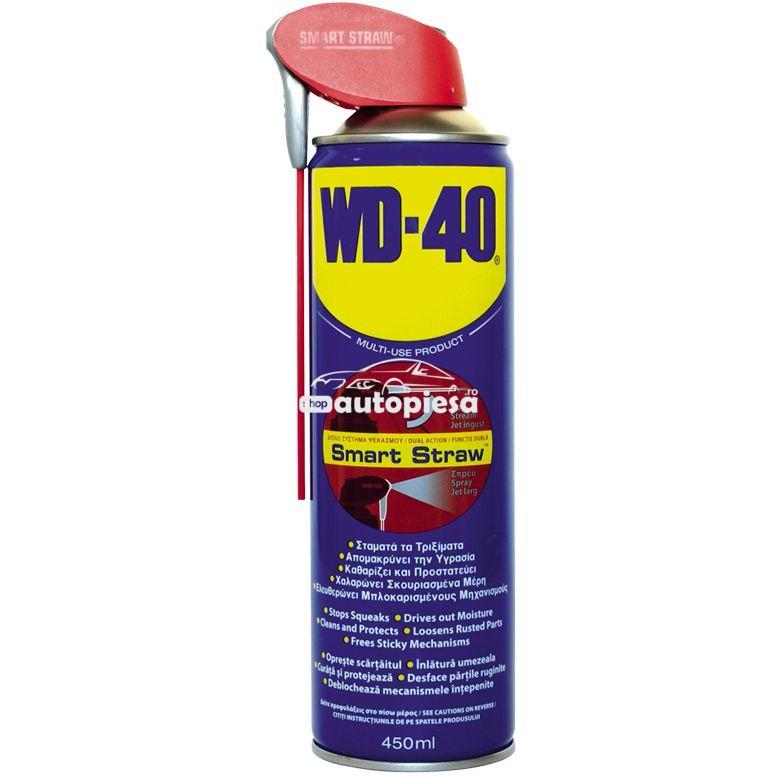 Spray lubrifiant multifunctional WD40 Smart Straw 450 ml
