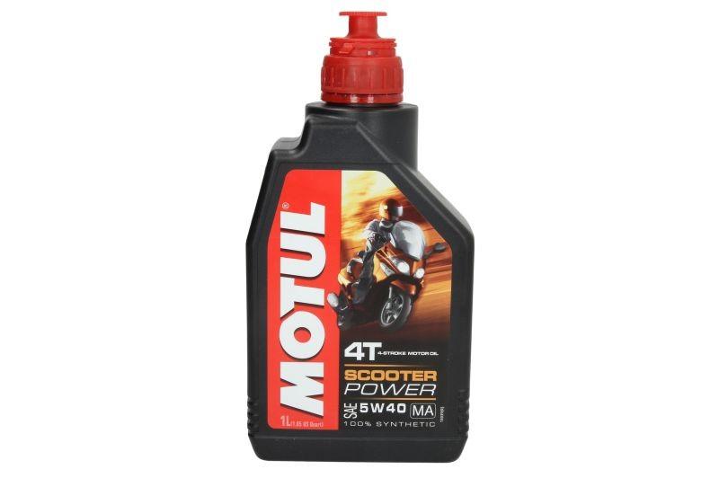 Ulei motor pentru motociclete Motul Scooter Power 5W40 4T 1L