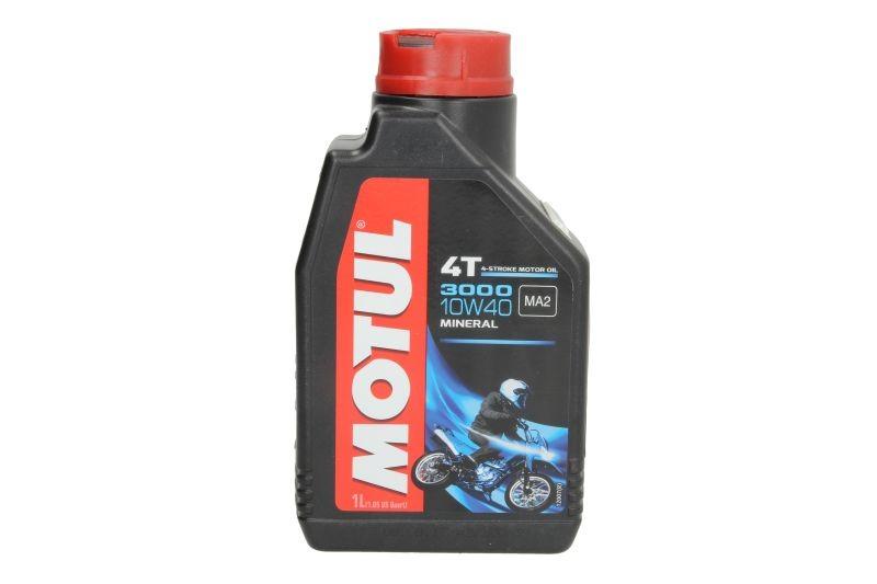 Ulei motor pentru motociclete Motul 3000 10W40 4T 1L