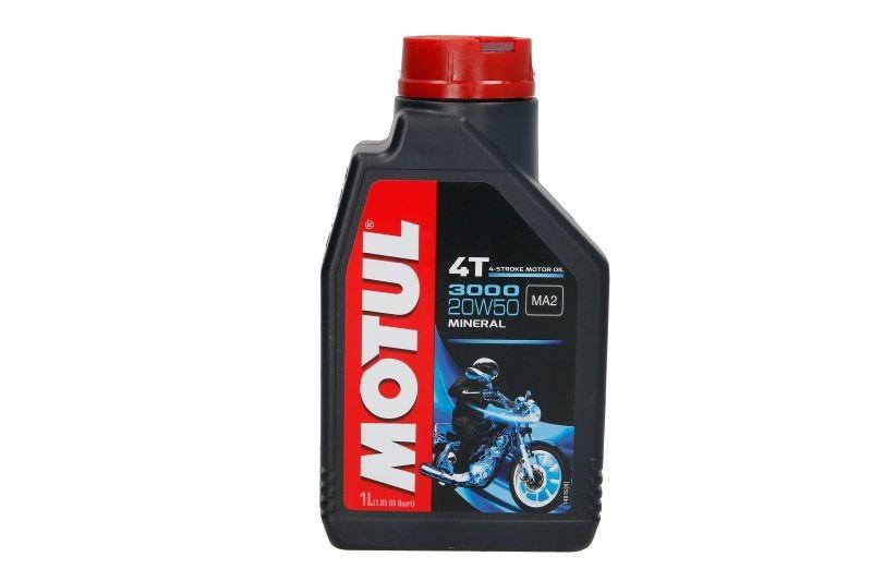 Ulei motor pentru motociclete Motul 3000 20W50 4T 1L