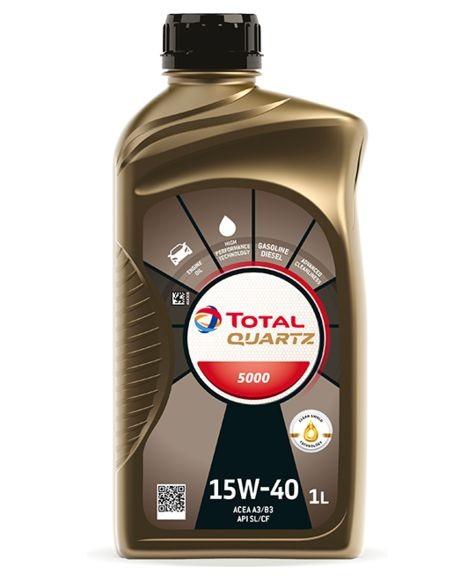 Ulei motor TOTAL Quartz 5000 Energy 15W40 1L