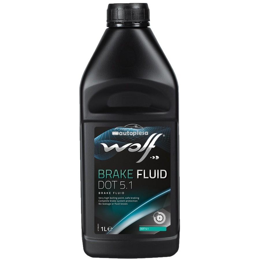 Lichid de frana WOLF DOT5.1 1 L