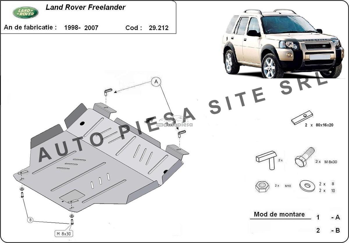 Scut metalic motor Land Rover Freelander fabricat incepand cu 2007