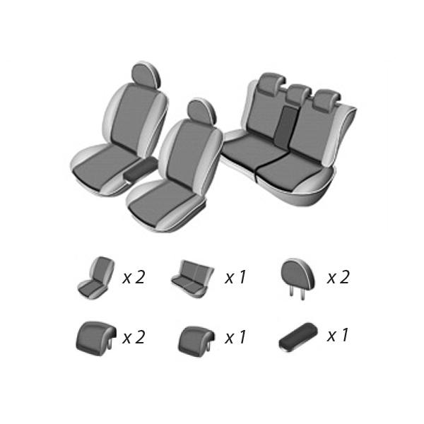 Set huse scaune RENAULT MEGANE II hatchback 2002 - 2009 UMBRELLA