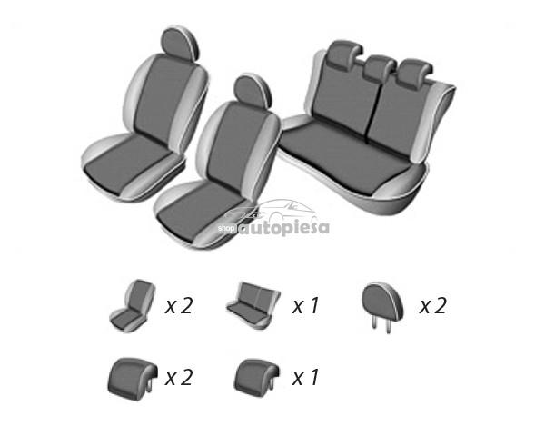 Set huse scaune SEAT LEON 2005 - 2012 UMBRELLA