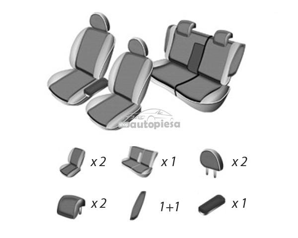 Set huse scaune SKODA OCTAVIA II 2008 - 2013 UMBRELLA