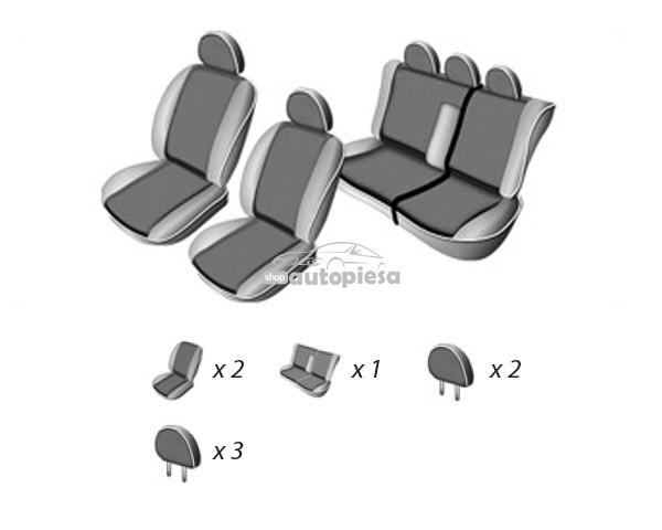 Set huse scaune VW GOLF IV 1997 - 2003 UMBRELLA