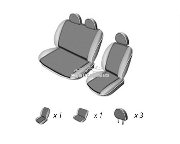 Set huse scaune VW T4 (2+1) TRANSPORTER VAN 1990 - 2003 UMBRELLA