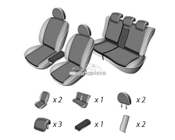 Set huse scaune VW TOUAREG 2010 - prezent UMBRELLA