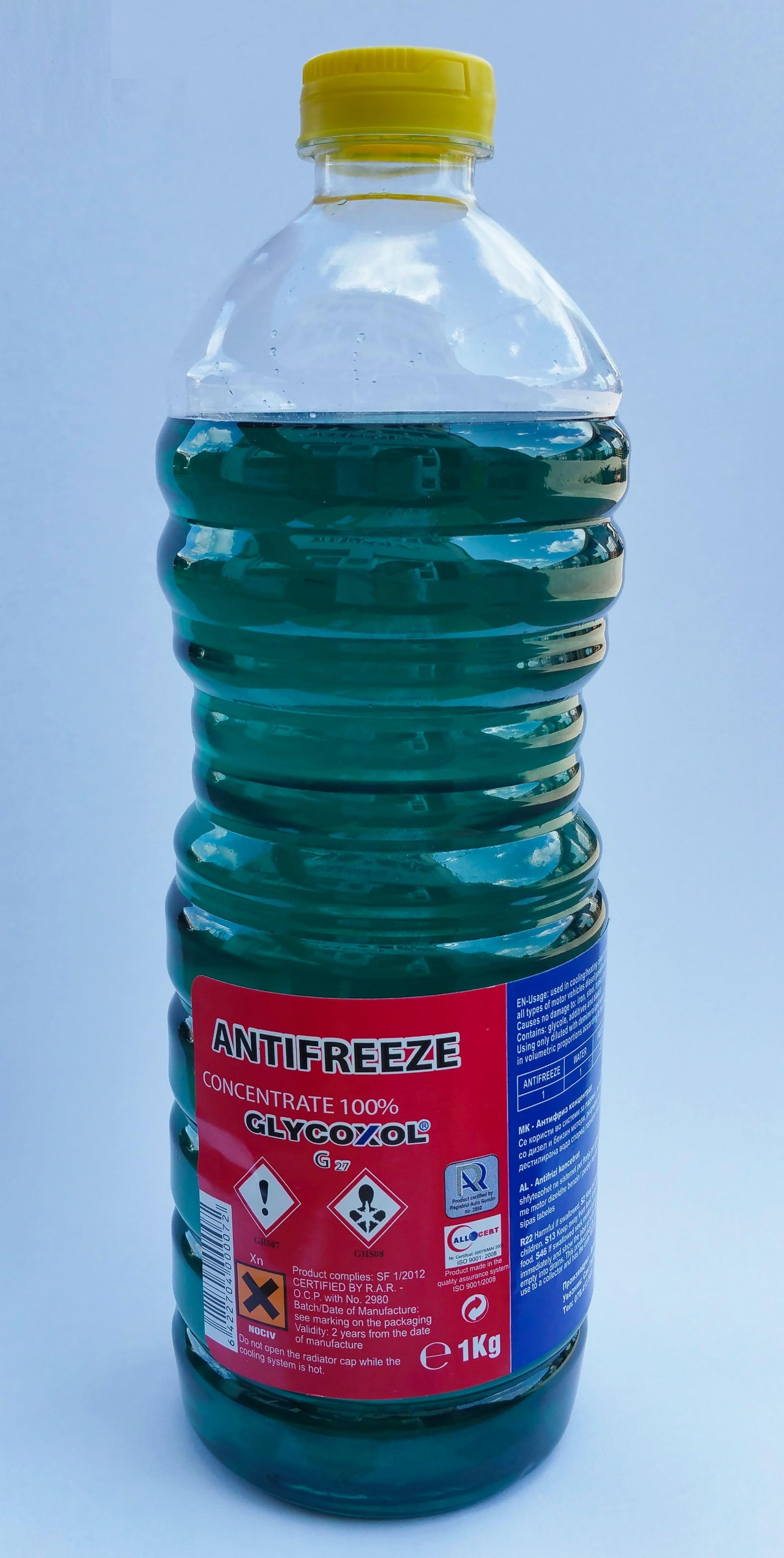 Antigel concentrat KYNITA Glycoxol G27 Albastru 1kg (0.85 L)