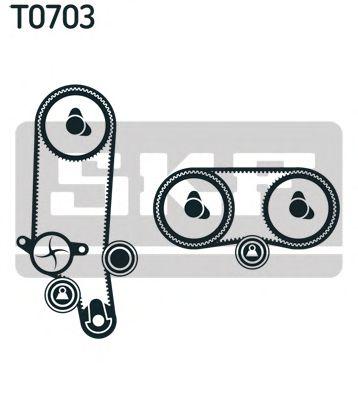 Set pompa apa + curea dintata 1