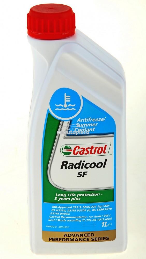 Antigel concentrat CASTROL Radicool SF G12 Rosu / Roz 1 L