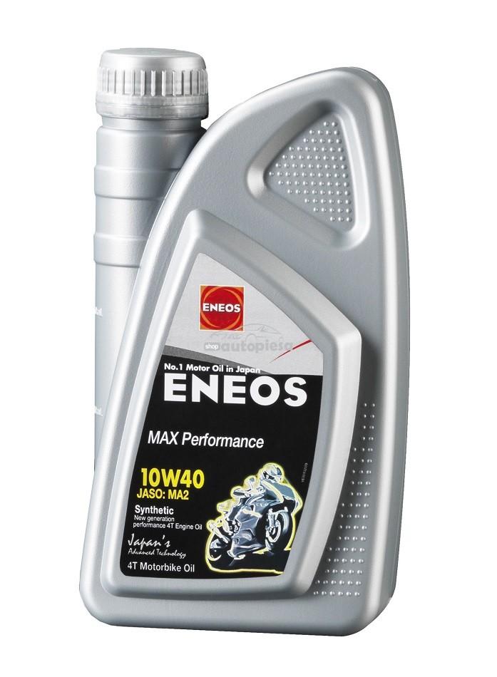 Ulei motor pentru motociclete ENEOS Max Performance 10W40 1L
