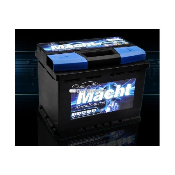 Acumulator baterie auto MACHT 65 Ah 580A