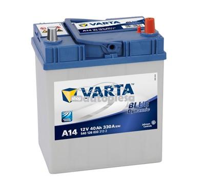Acumulator baterie auto VARTA Blue Dynamic 40 Ah 330A cu borne inguste