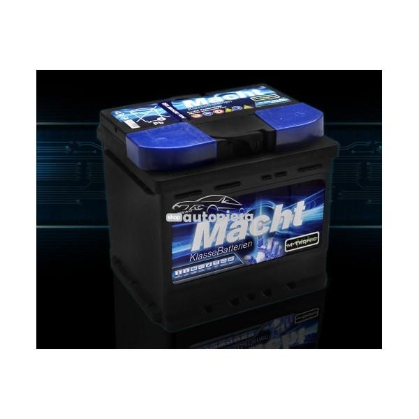 Acumulator baterie auto MACHT M-Tronic 52 Ah 450A - GARANTIE 3 ANI