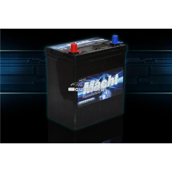 Acumulator baterie auto MACHT 35 Ah 300A cu borne inguste si inverse JIS (masini japoneze)