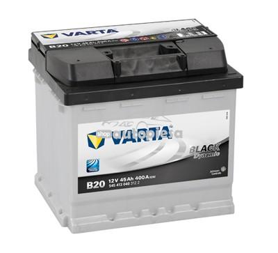 Acumulator baterie auto VARTA Black Dynamic 45 Ah 400A cu borne inverse