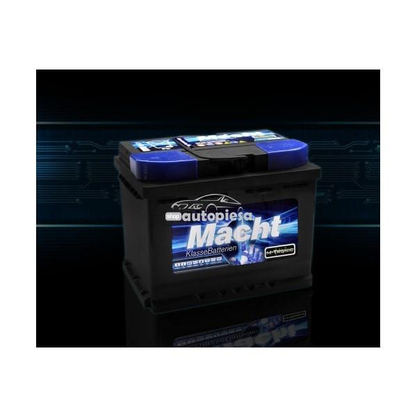 Acumulator baterie auto MACHT M-Tronic 63 Ah 600A - GARANTIE 3 ANI