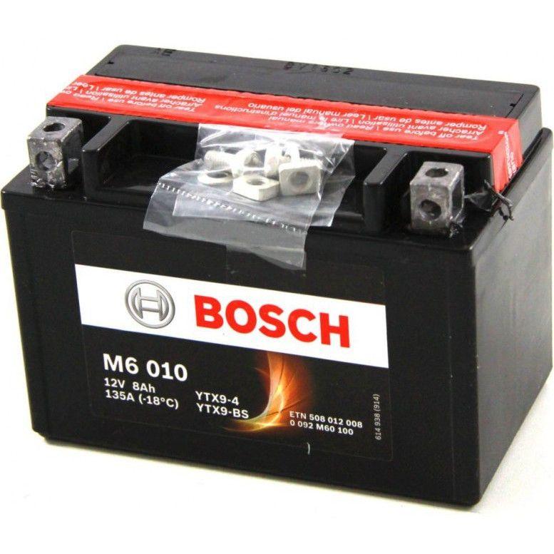 Acumulator baterie motociclete BOSCH M6 8 Ah 80A tip AGM