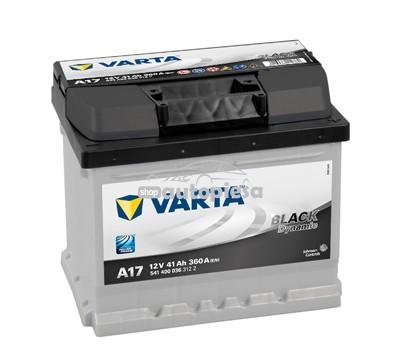 Acumulator baterie auto VARTA Black Dynamic 41 Ah 360A