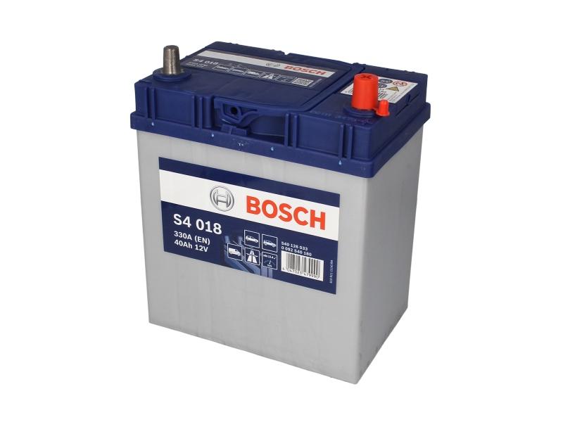 Acumulator baterie auto BOSCH S4 40 Ah 330A cu borne inguste