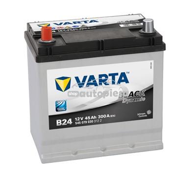 Acumulator baterie auto VARTA Black Dynamic 45 Ah 300A cu borne inverse