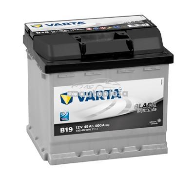 Acumulator baterie auto VARTA Black Dynamic 45 Ah 400A