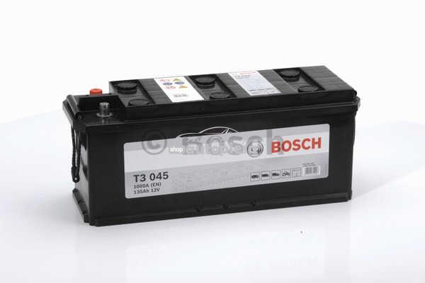 Acumulator baterie camioane BOSCH T3 135 Ah 1000A