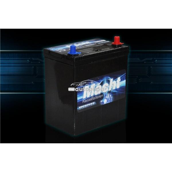 Acumulator baterie auto MACHT 35 Ah 300A cu borne inguste JIS (masini japoneze)